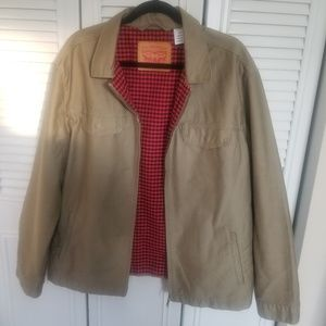 Levi's Khaki Utility Jacket